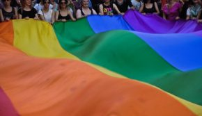 Banned colours: Istanbul Pride